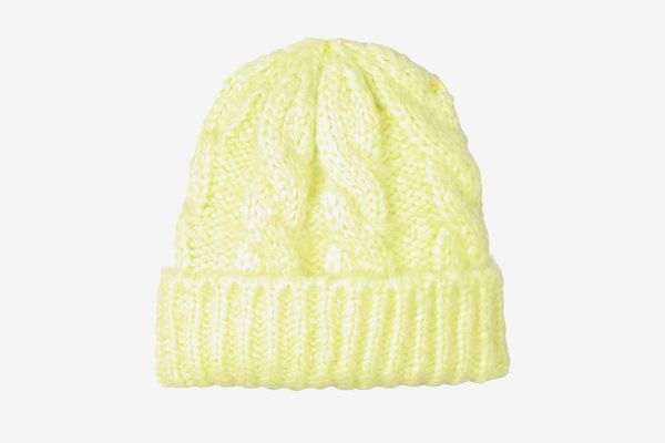 Under Zero Winter Cable Knitted Beanie Hat