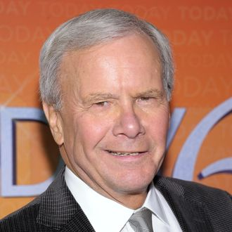 TV journalist Tom Brokaw attends the