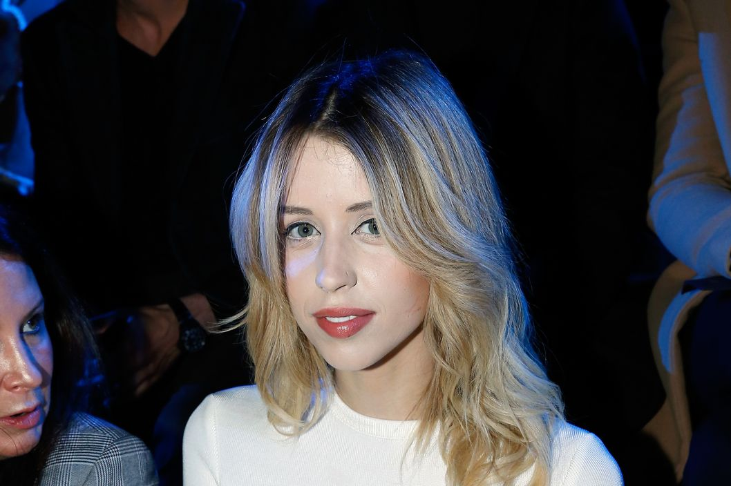 PARIS, FRANCE - FEBRUARY 25:  Peaches Geldof attends ETAM show as part of the Paris Fashion Week Womenswear Fall/Winter 2014-2015 on February 25, 2014 in Paris, France.  (Photo by Bertrand Rindoff Petroff/Getty Images)