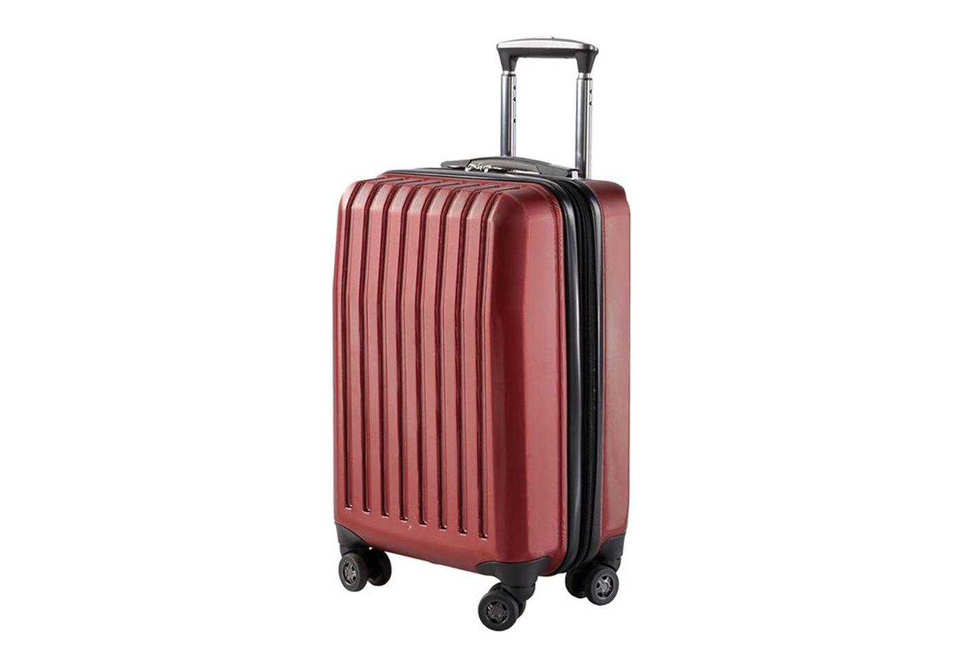 Brookstone Dash 4-Wheeled Expandable Carry-on Luggage