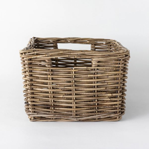 Threshold designed with Studio McGeeDecorative Rectangle Kooboo Rattan Basket 18