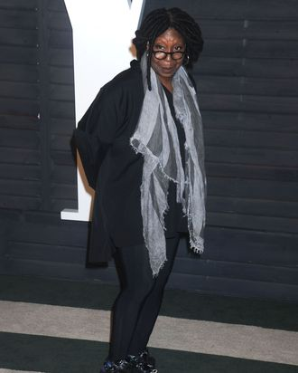 Whoopi Goldberg, post-Oscars.