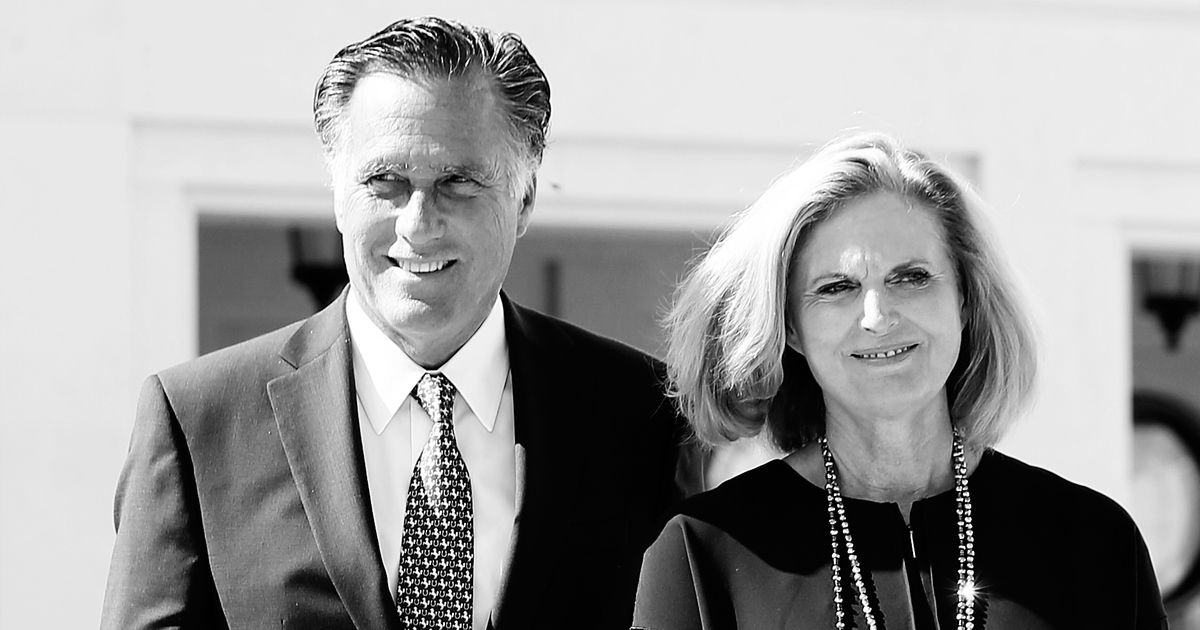 Mitt Romney Says He Voted for [Borat Voice] His Wife for President