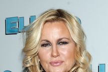 """NEW YORK - NOVEMBER 21:  Jennifer Coolidge attends the after party for the Broadway opening night of """"Elling"""" on November 21, 2010 at the Soho House in New York City.  (Photo by Roger Kisby/Getty Images) *** Local Caption *** Jennifer Coolidge"""