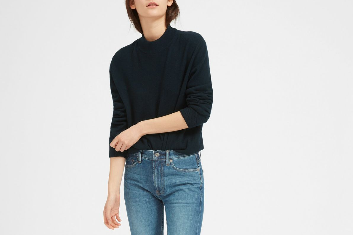 Everlane The Men's Cashmere Mockneck for Her