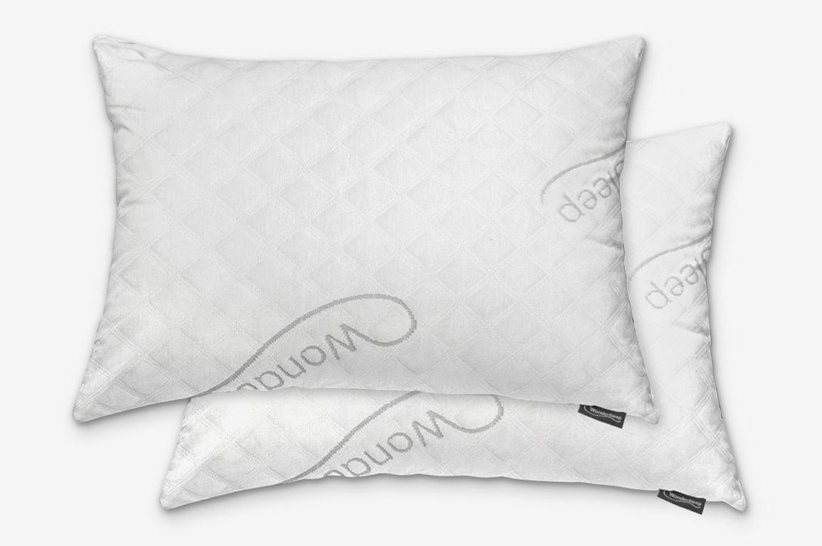 WonderSleep Adjustable Loft Shredded Memory Foam Queen Pillows