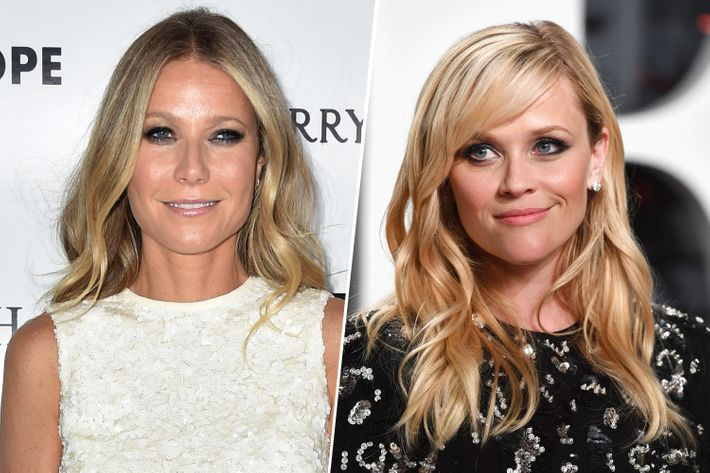 Gwyneth Paltrow (left), Reese Witherspoon (right). Photo: Getty Images