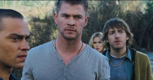 Cabin In The Woods Trailer Chris Hemsworth Learns Horror Lessons The Hard Way