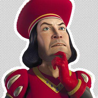 5f6ecad1b3c Lord Farquaad Is a Style Icon