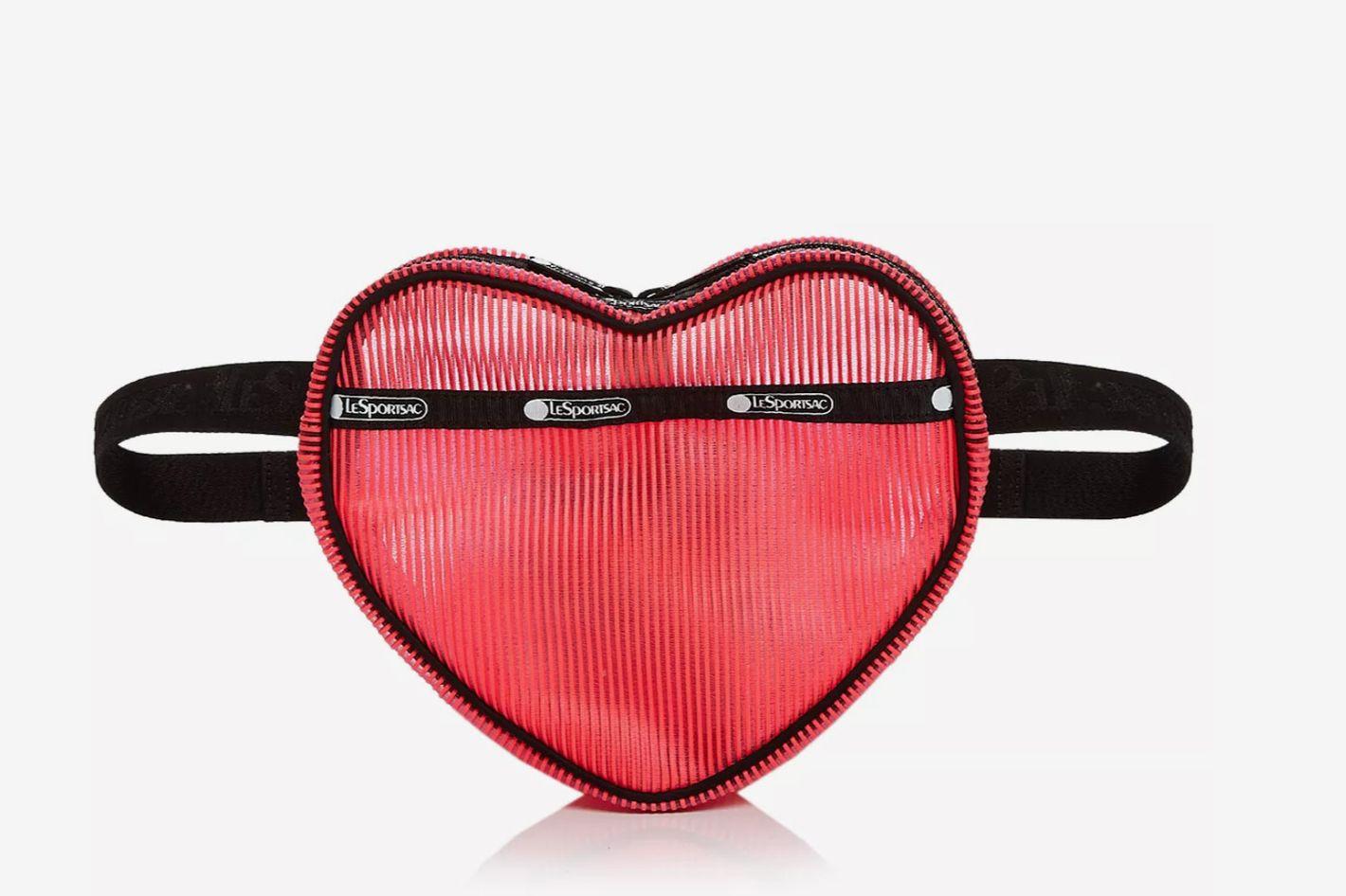 LeSportsac Valentine Medium Sweetheart Nylon Belt Bag