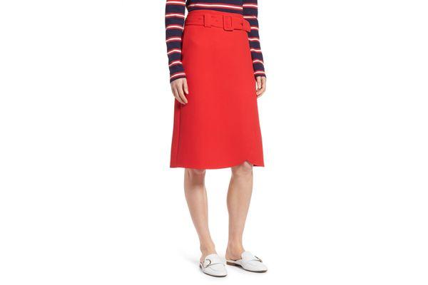 Halogen Belted Skirt