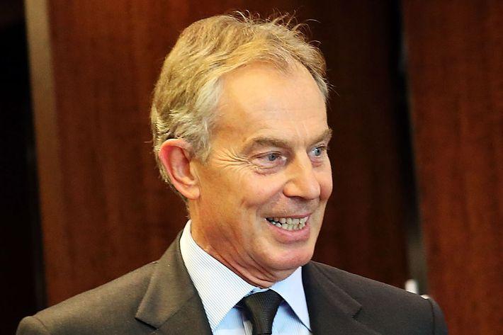 Tony Blair knows debate-team-style kung fu.