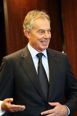 Tony Blair knows debate-team-style kung fu.