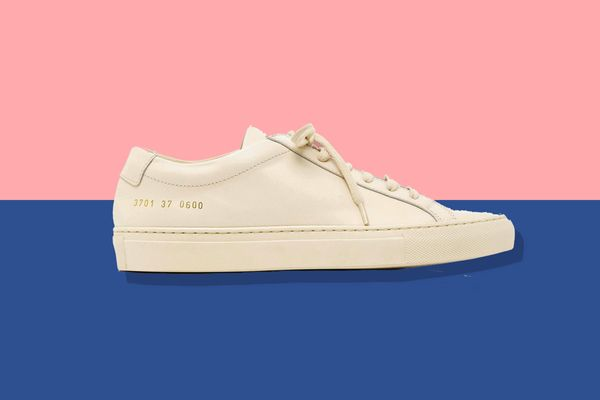 Common Projects Original Achilles Low Leather Sneakers, Neutral