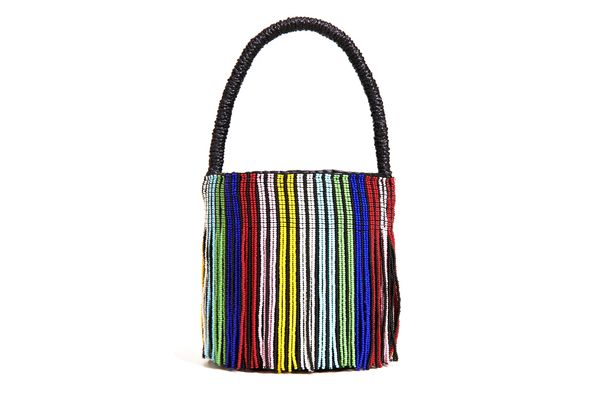 Sensi Studio Mini Mini Beaded Bucket Bag