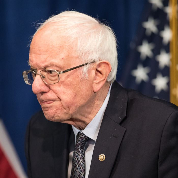 Why Bernie Sanders Should Drop Out of the Democratic Primary