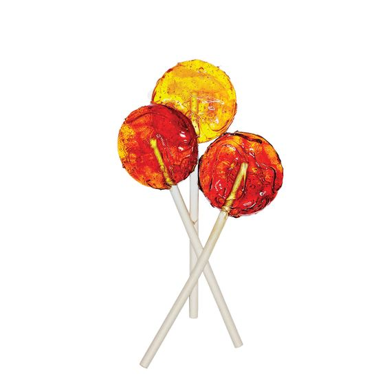 "<b>Ayurvedic Lollipops:</b>    <b>Dosha Pops</b>    <i><a href=""https://doshapops.com/"">Doshapops.com</a></i>    Dosha pops are crafted up-town with traditional Hindu Ayurvedic herbal tea. Answer a few online questions about your temperament to determine the ideal sucker—with, say, harmonizing pomegranate or invigorating turmeric ($15 for six)—to ""balance your energy."""