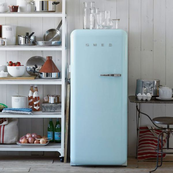 Smeg Full-Size Fridge Refrigerator Blue