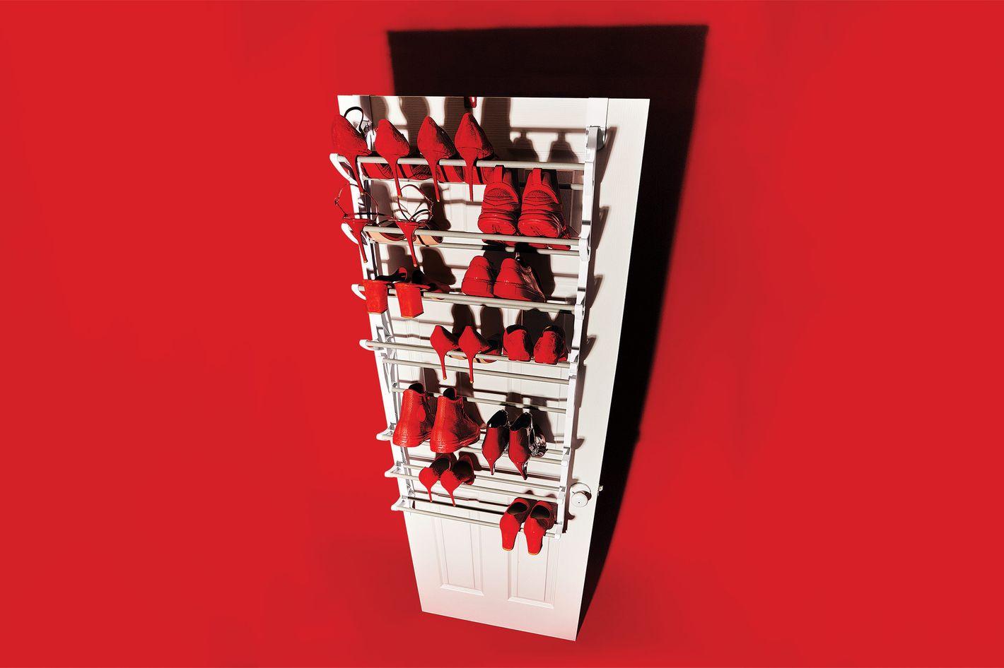 Whitmor Over the Door Shoe Rack
