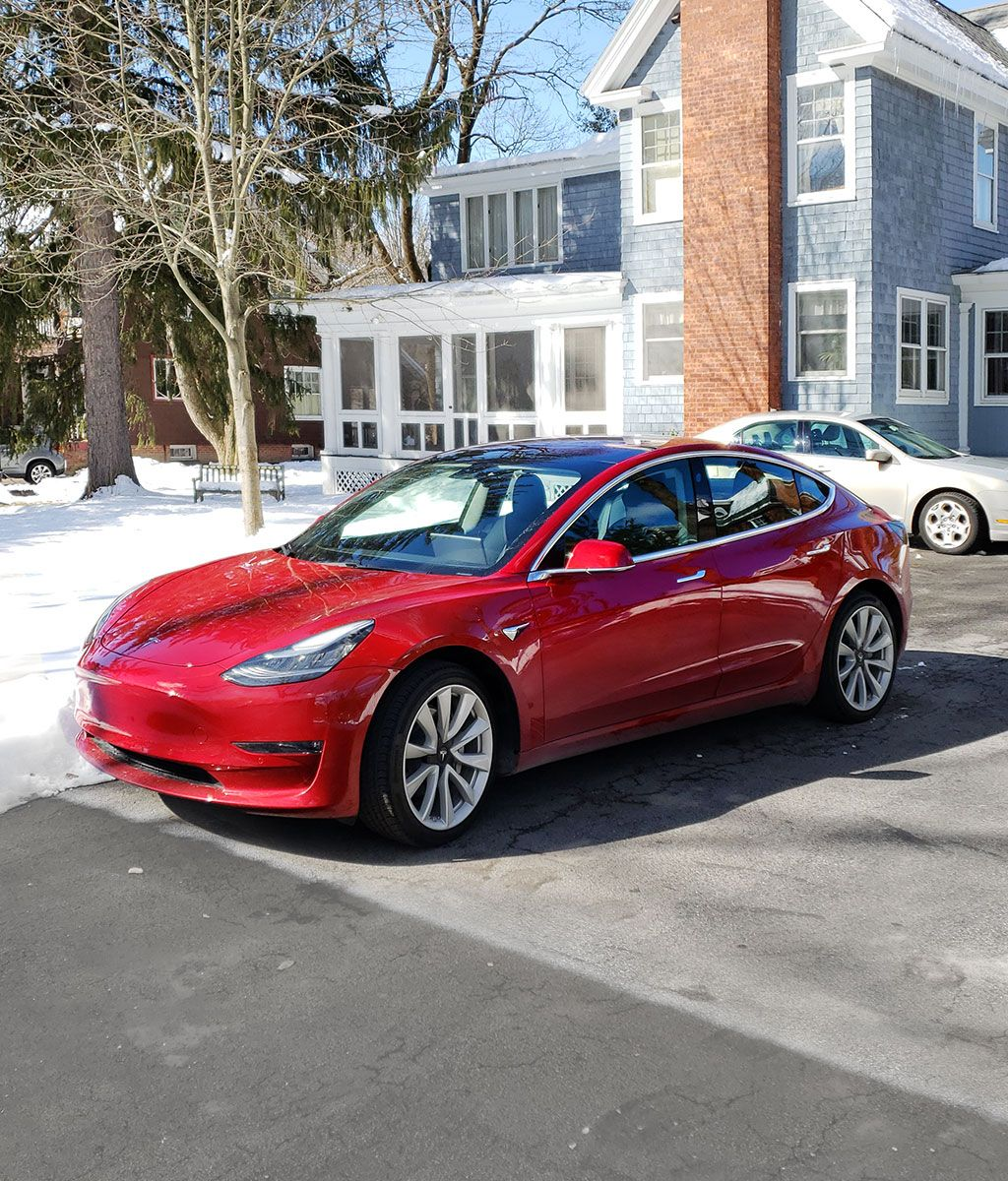 A Weekend Upstate With The Tesla Model 3