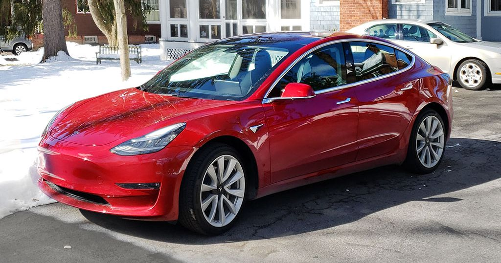 What It's Like to Take a Road Trip With the Tesla Model 3