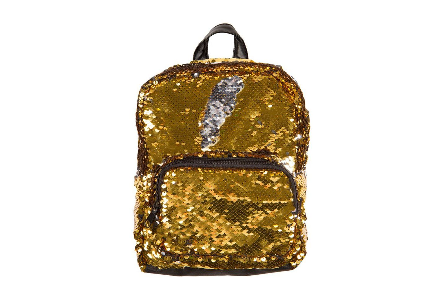 Style.Lab Magic Sequin! Reversible Gold to Silver Mini Backpack