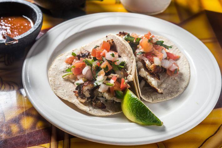 Tortilleria Nixtamal's skate taco.
