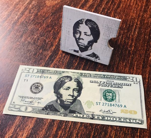 Harriet Tubman Stamp (Minimalist handle)
