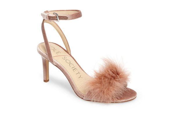 Sole Society Lindzay Feather Sandal
