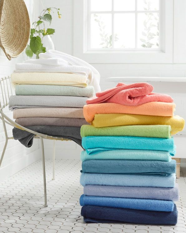 Garnet Hill Signature Egyptian Cotton Towels