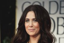 Actress Kristen Wiig arrives at the 69th Annual Golden Globe Awards