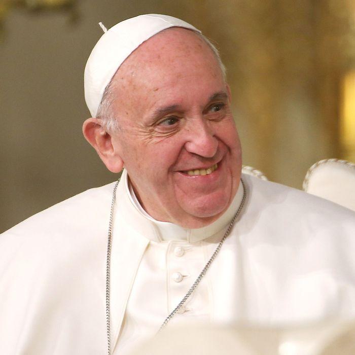 Pope Francis, a big Tinder fan.