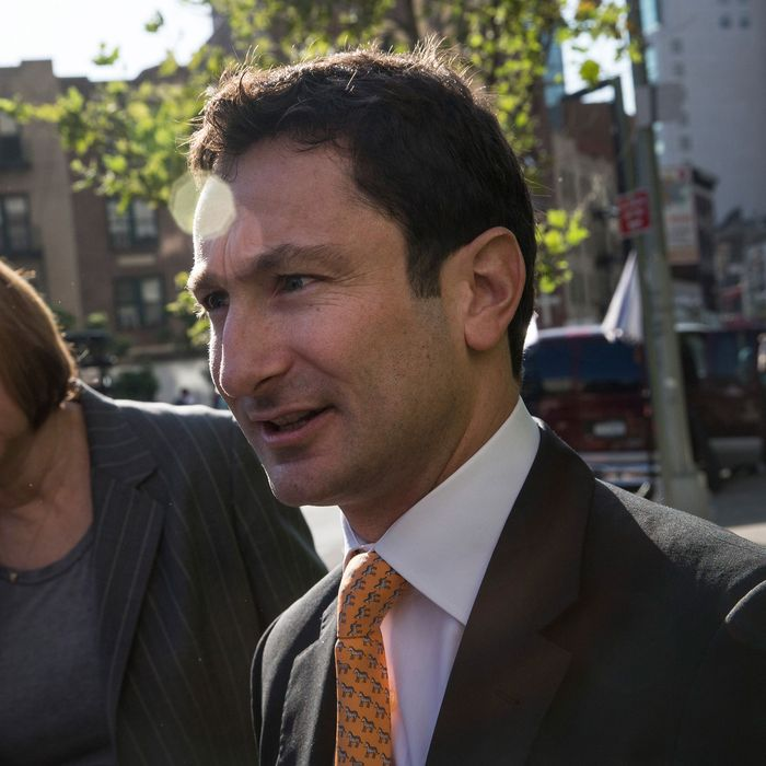 Fabrice Tourre, a former Goldman Sachs mortgage trader, arrives at Federal Court for a lawsuit being brought against him by the Security and Exchange Commission (SEC), on July 15, 2013 in New York City. The SEC alleges Tourre misled investors by betting against the housing market, in the midst of the 2008 recession.