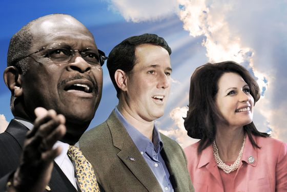 God Caught Backing Multiple GOP Candidates for President