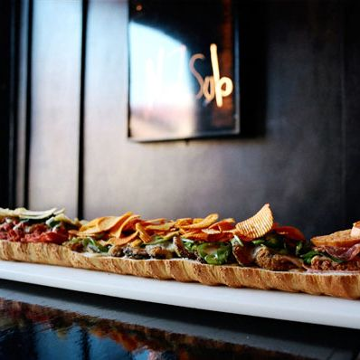 No. 7 Sub's offering three-foot and six-foot sandwiches. Take that, Subway.