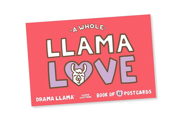 Drama Llama Postcard Book — Set of 12