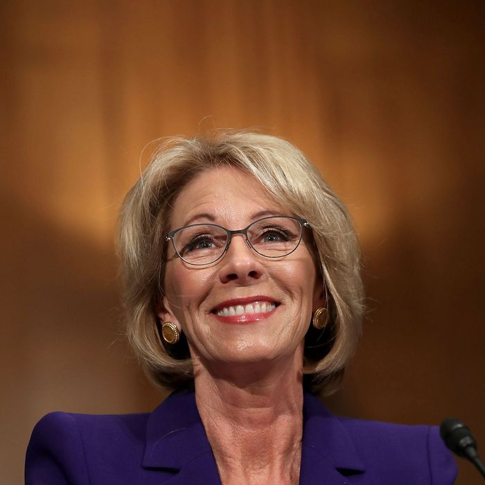 Betsy Devos Threat To Children With >> Why Was Betsy Devos The One Nominee Who Provoked Opposition
