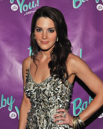 Actress Kelli Barrett attends the after party for the Broadway opening night of