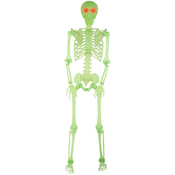 Holiday Living 61.42-Inch Lighted Skeleton Hanging Decoration