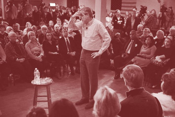 Jeb Bush Holds Town Hall In New Hampshire