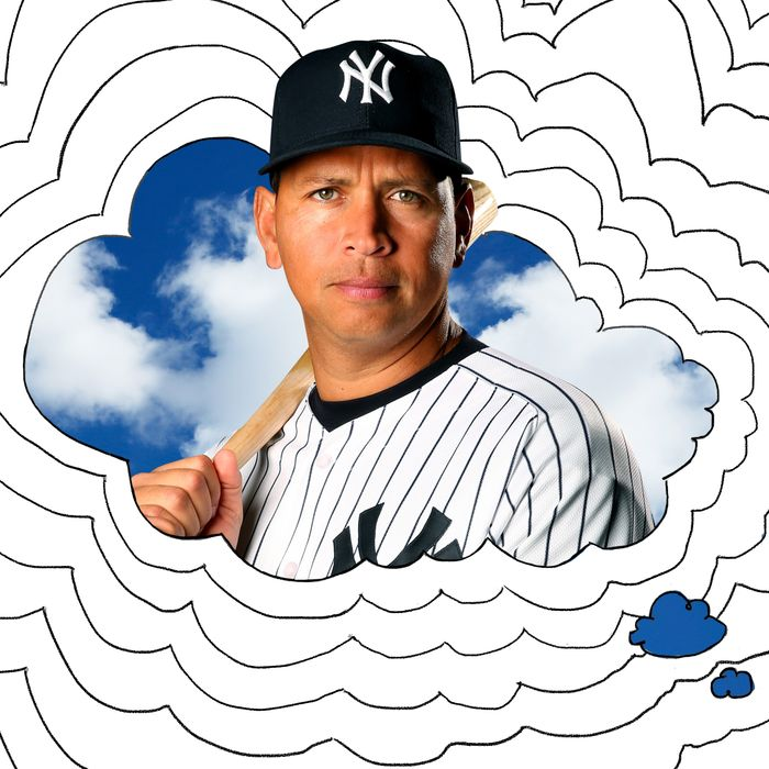 I Think About the Legend of the A-Rod Centaur Painting a Lot