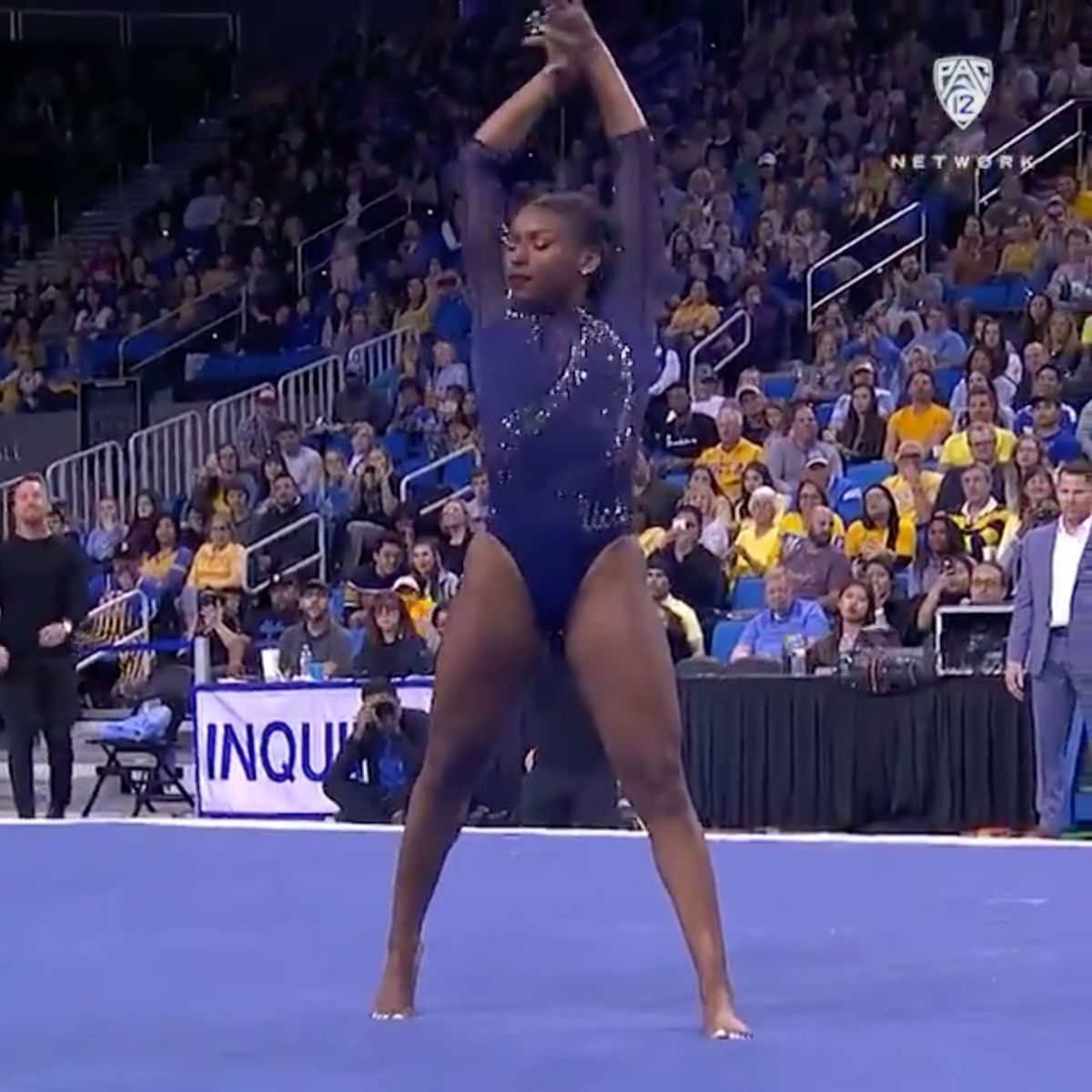 WATCH: UCLA Gymnast Nia Dennis Viral