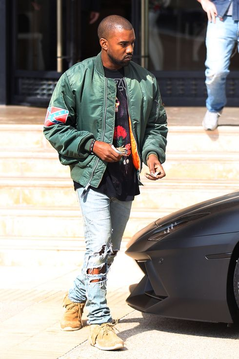 LOS ANGELES, CA - NOVEMBER 04:   Kanye West is seen  on November 04, 2013 in Los Angeles, California.  (Photo by Bauer-Griffin/FilmMagic)