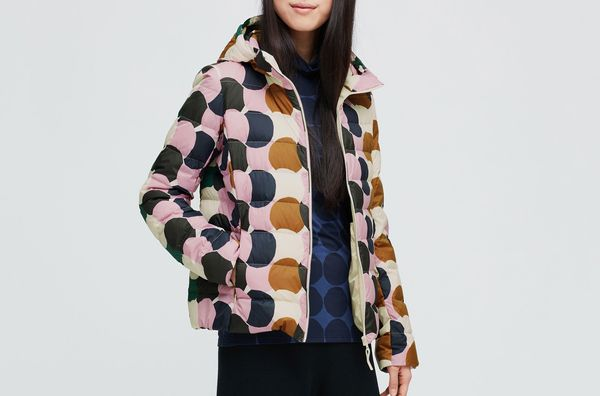Uniqlo Women's Marimekko Ultra Light Down Parka