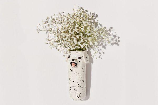 Katie Kimmel UO Exclusive Lil Pup Wall Vase