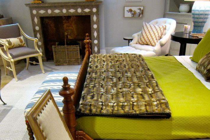 """""""What adds liveliness to a room,"""" Williams explains, """"is different finishes such as mahogany, lacquer, and metal."""""""