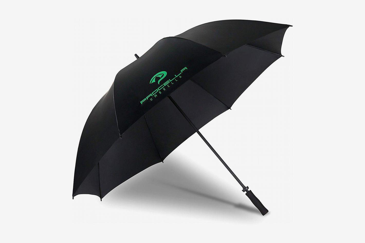 Procella 68-inch Golf Umbrella Windproof Waterproof Extra Large Oversize Stick Single Canopy Umbrella