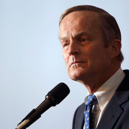 "FILE - This May 17, 2011 file photo shows U.S. Rep. Todd Akin, R-Mo., announcing his candidacy for U.S. Senate, in Creve Coeur, Mo. Akin said in an interview Sunday, Aug. 19, 2012 with St. Louis television station KTVI that pregnancy from rape is ""really rare."" Akin, who has said he opposes all abortions, said in the interview if a woman is raped, her body ""has ways to shut that whole thing down."" (AP Photo/Jeff Roberson, file)"