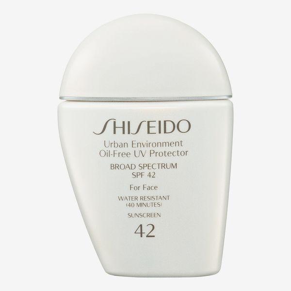 shiseido urban environment uv protector spf 42 - spring beauty sale