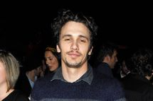 Actor James Franco at the smartwater CAA party on the vitaminwater Rooftop on September 11, 2011 in Toronto, Canada.